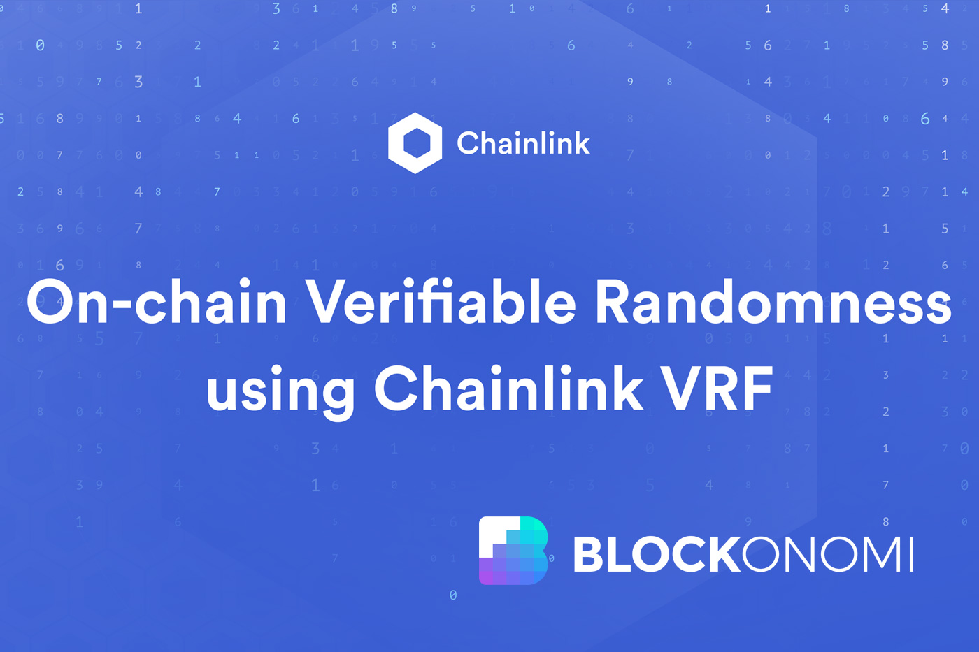 Are You Good AtChainlink VRF? Here's A fast Quiz To seek out